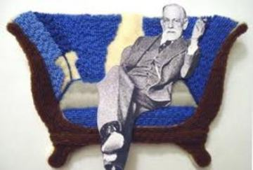 Freud on couch