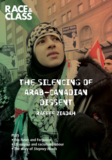 Race and Class Journal Silencing of Arab Canadian dissent