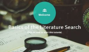 Basics of the Literature Search online course