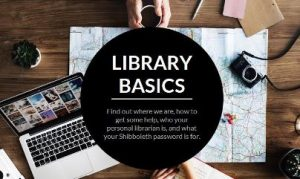 Library Basics online course