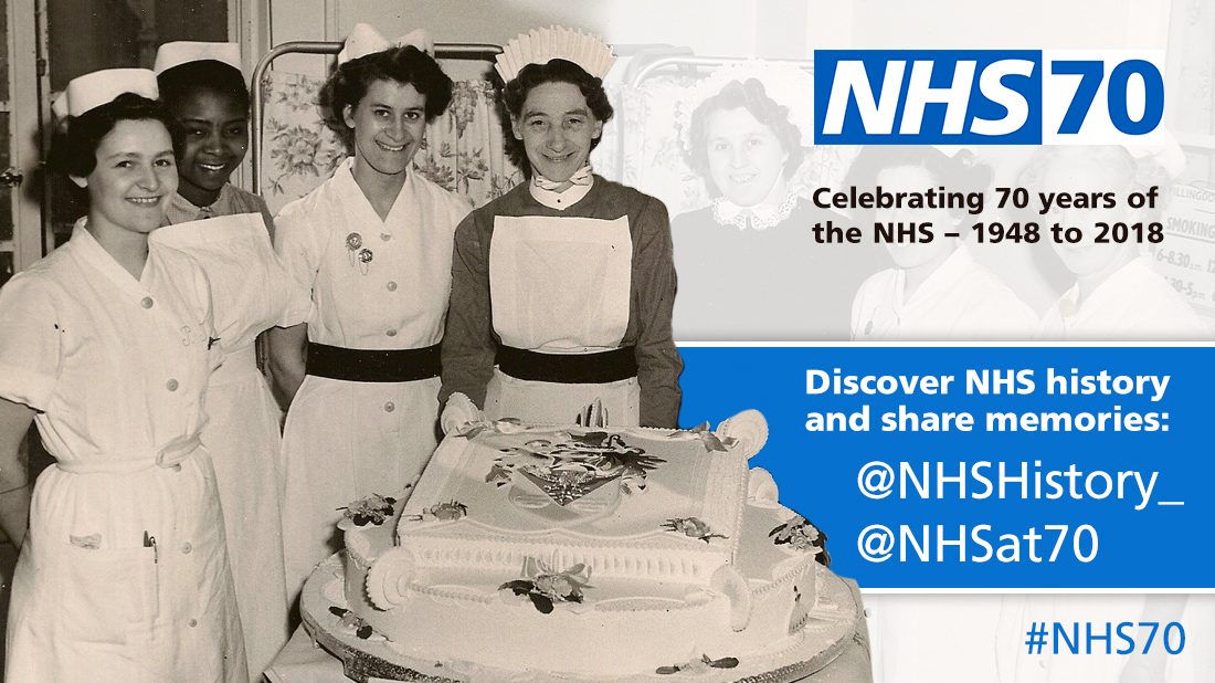 Discover NHS memories promotion