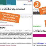 How to download and print a PDF from Staff Publications Online repository