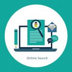 Online search illustration