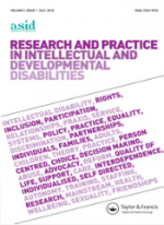 Research and practice in Intellectual and Developmental Disabilities