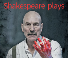 Shakespeare plays playlist on BoB