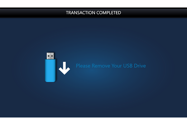Remove your USB from printer