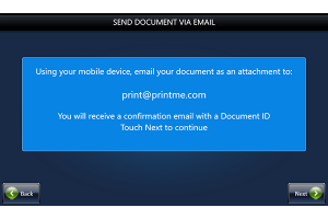 Email your document to print it