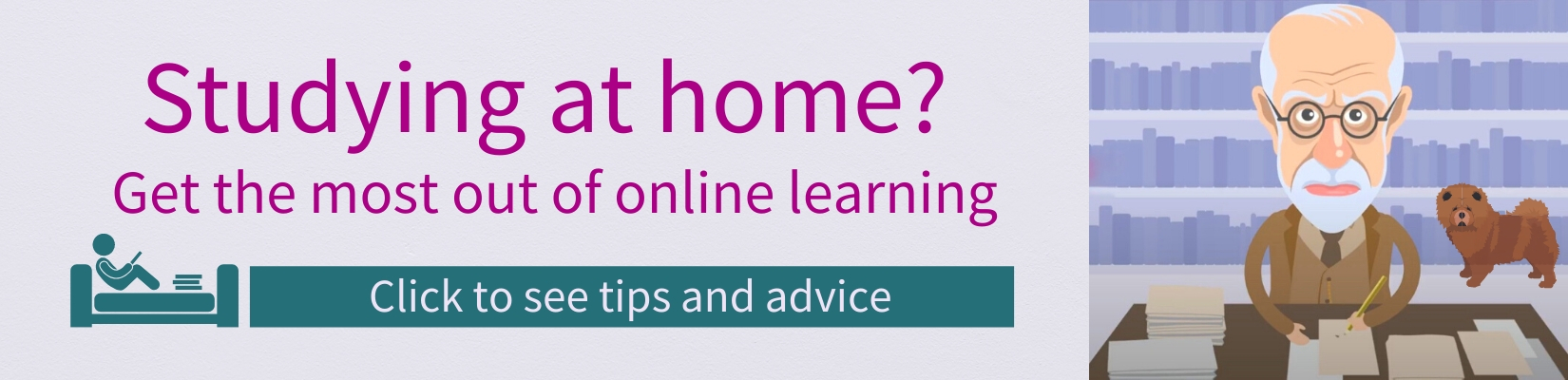 Advice on studying at home
