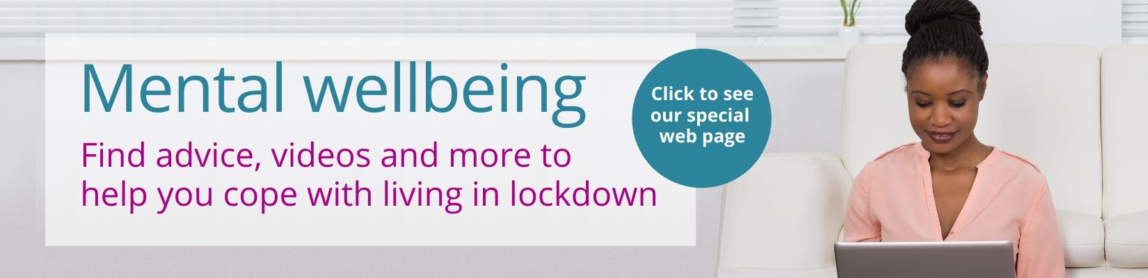 Link to mental wellbeing web page