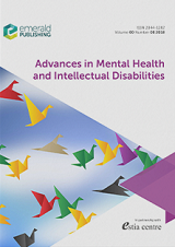 Advances in Mental Health and Intellectual Disabilities journal